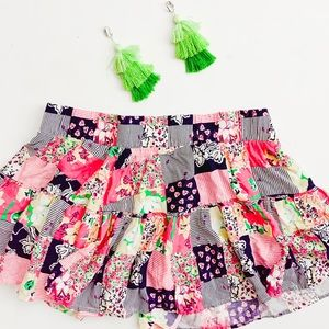 Lilly Pulitzer | Patchwork Mini Skirt